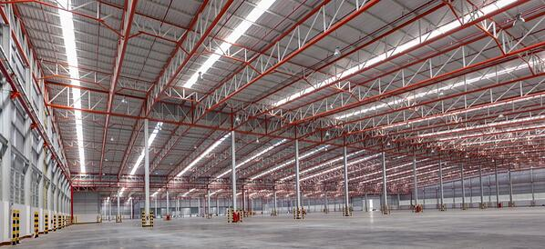 Many buildings can benefit from LED lighting